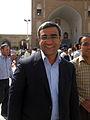 Hossein Muzaffari in Grand Mosque of Nishapur - October 5,2013 - Friday Pray 2.jpg