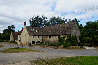 Hawkesbury, Gloucestershire - A house in the centre of Hawkesbury