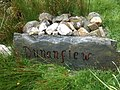 House sign for Dunanfiew - geograph.org.uk - 879913.jpg