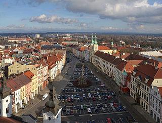 Hradec Králové city in the Czech Republic