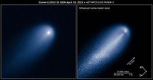 Comet ISON - Image: Hubble Site C2012S1 20130410