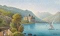 Hubert Sattler - Blick auf Schloss Chillon am Genfer See.jpg