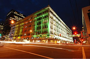 Hudson's Bay (retailer) - Hudson's Bay in downtown Vancouver, which houses the second location of The Room