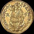 Hun II Rakoczi Ferenc Dukat 1704 KB Huszar 1521 reverse.jpg
