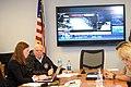 Hurricane Joaquin press conference at MEMA (21886982135).jpg
