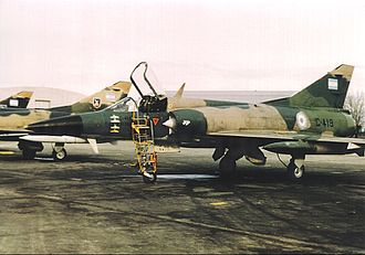 Argentine air forces in the Falklands War - IAI Dagger, Argentine Air Force, 1984