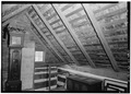 INTERIOR, ATTIC, EAST END - Wertz-Lashee House, Julius Lane, near Davidsburg Road, Davidsburg, York County, PA HABS PA,67-DAVBU.V,1-5.tif