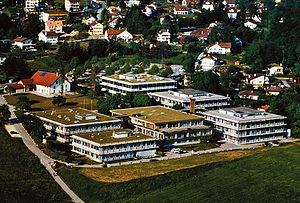Lausanne University Hospital - The Center for Immunology and Infection Lausanne (CIIL), UNIL-CHUV, in Épalinges, in the 2007.