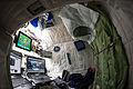ISS-43 Scott Kelly's personal living quarters in space.jpg