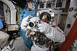 ISS-59 Nick Hague's spacesuit fit check.jpg
