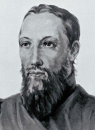 Hyacinth (Bichurin) - Portrait by  Nikolay Bestuzhev