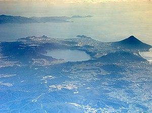 Kaimondake volcano - Image: Ibusuki Volcanoes