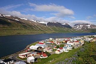 Suðureyri Village in Northwest Constituency, Iceland