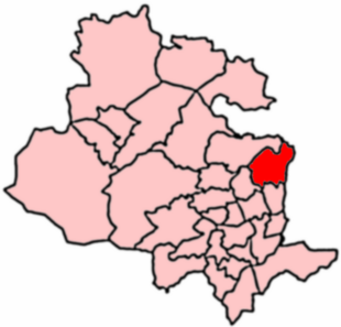 2004 Boundaries of Idle and Thackley Ward