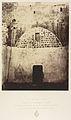 Ie Station. Jésus est condamné à mort. Une cour intérieure de la caserne turque où la tradition place l'endroit du prêtoire où Jésus fut jugé MET DP345534.jpg