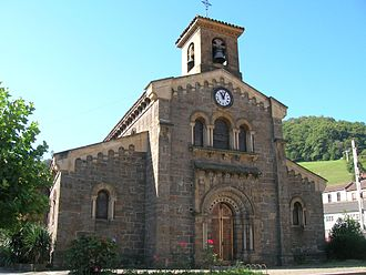Church of Santa Eulalia de Ujo - Image: Iglesia de Santa Eulalia de Ujo 01