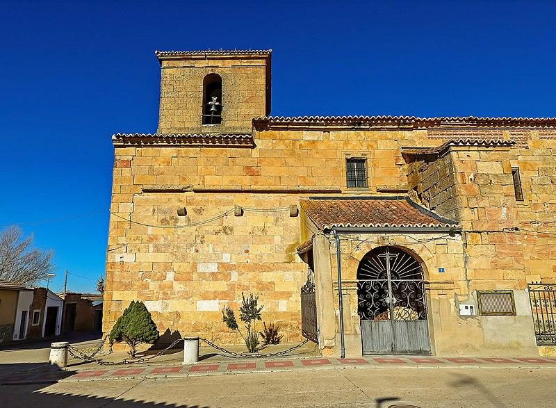 Archivo Iglesia De Santiago Apostol En Espino De La Orbada Vista