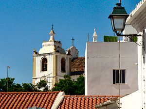 Alvor (Portimão) - The Facho Tower and Matriz Church, medieval symbols of Alvor's history