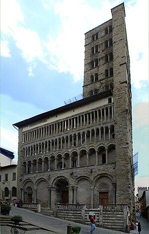 Santa Maria della Pieve - Image: Igreja Santa Maria della Pieve Arezzo