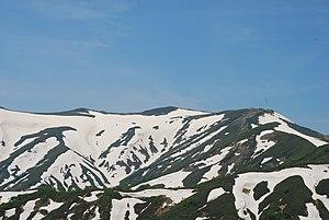 Mount Iide - Mount Iide seen from Iboiwayama