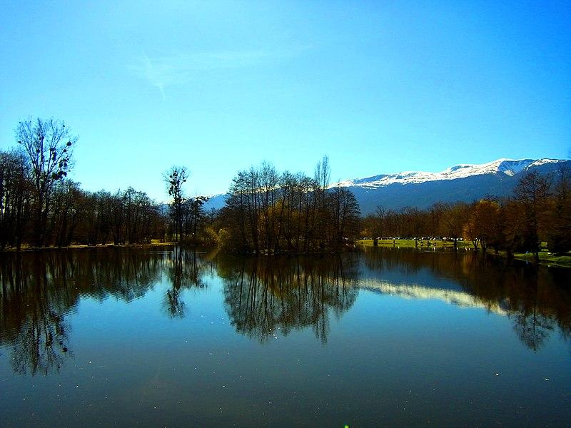Ile de l'étang de Cessy, 01170 Cessy France