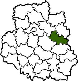 Vị trí của huyện Illintsi trong tỉnh Vinnytsia