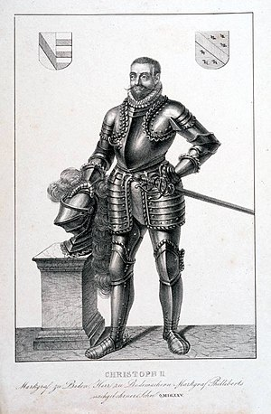 Christopher II, Margrave of Baden-Rodemachern - Margrave Christopher II of Baden-Rodemachern