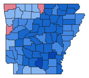 United States presidential election in Arkansas, 1976 - Image: Img.AR pre 1976