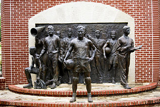 Baylor Bears basketball - The Immortal Ten Memorial
