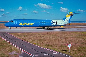 Impulse Airlines - Impulse Boeing 717 in 2001