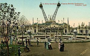 Franco-British Exhibition (1908) - In Elite Gardens