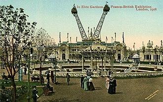 Franco-British Exhibition (1908) - In Elite Gardens