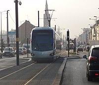 Inauguration de la branche vers Vieux-Condé de la ligne B du tramway de Valenciennes le 13 décembre 2013 (158).JPG