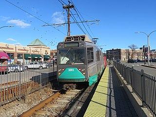 Harvard Avenue station MBTA subway station