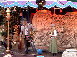 Indiana Jones Summer of Hidden Mysteries - Image: Indiana Jones and the Secret of the Stone Tiger