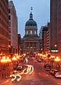 Indiana Statehouse Market Street vista.jpg