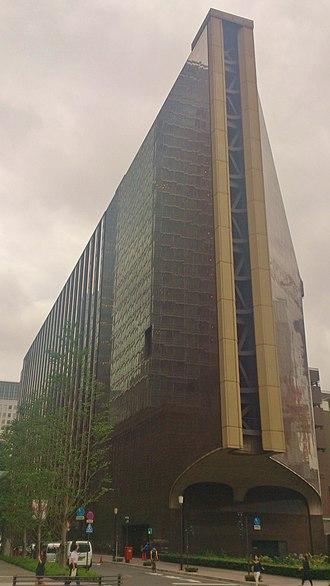 Mizuho Corporate Bank - Mizuho Corporate Bank Head Office in Marunouchi, Tokyo