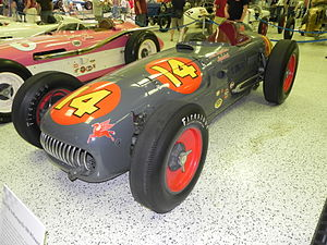 1953 Indianapolis 500 - Winning car of the 1953 Indianapolis 500