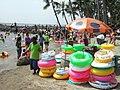 Inflatable tubes Festival Beach.jpg