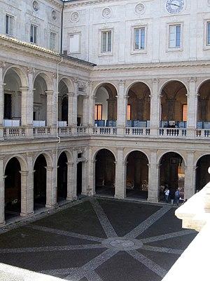 sapienza courtyard