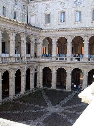 Sapienza University of Rome - Palazzo della Sapienza, former home of the University until 1935.