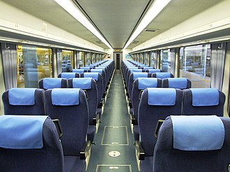 Seibu 10000 series - Image: Inside of Seibu 10000