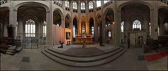Limoges Cathedral - Image: Interieur de la cathedrale saint etienne 2