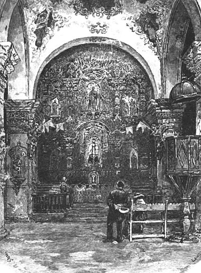 Interior Of Church Of San Xavier Del Bac - Pg-507.jpg