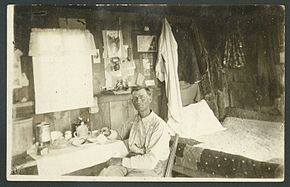 Interior of claim shack, Quinn S.D.jpg