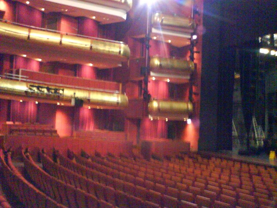 Interior of the Theatre, Esplanade – Theatres on the Bay, Singapore - 20070119