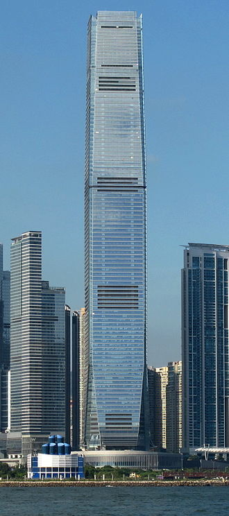 International Commerce Centre - Image: International Commerce Centre 201008