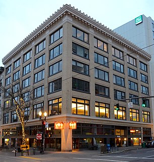 Ira F. Powers Building Historic building in Portland, Oregon, U.S.