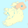 Ireland map blank.png