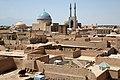 Irnk006-Jazd-hotel Dalan e Behesht-widok z dachu.jpg